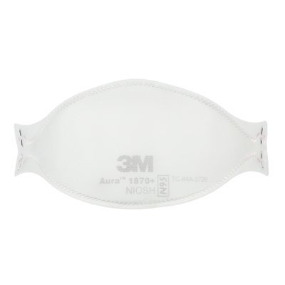 3M 1870+ N95 Disposable Particulate Respirator