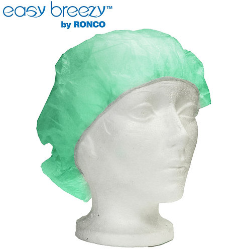 "Ronco 21"" Easy Breezy Latex Free Bouffant Caps"