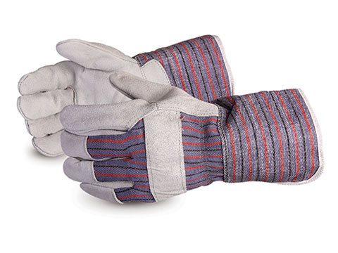 Crewmate Split-Leather Fitter Gloves with Gauntlet Cuff