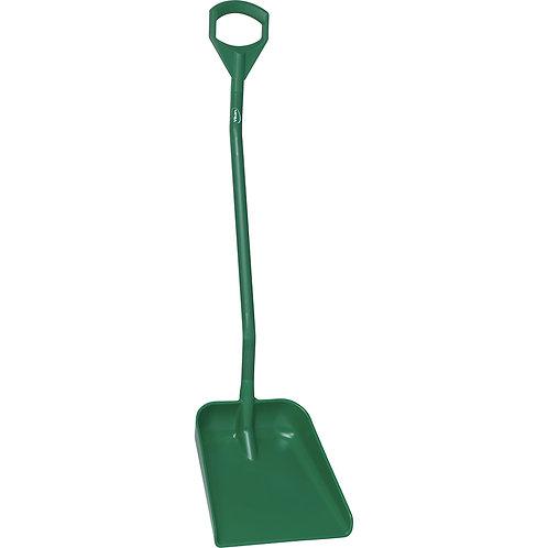 Vikan Green Large Bladed Ergonomic Shovel