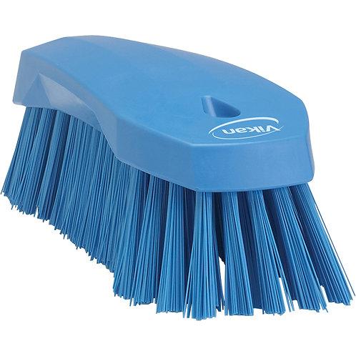 Vikan Blue Hand Scrub Brush - Stiff