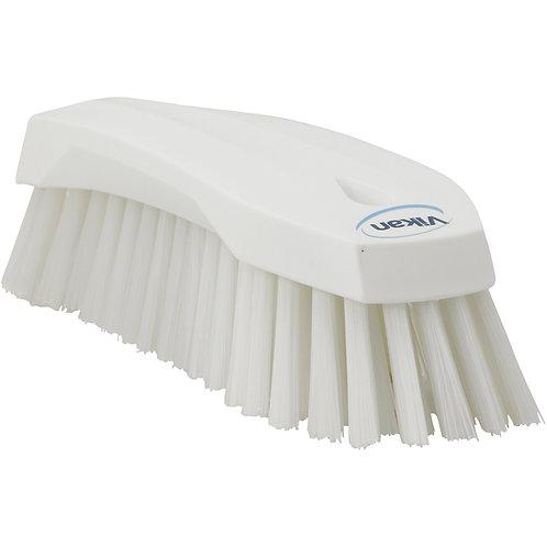 Vikan White Hand Scrub Brush - Stiff
