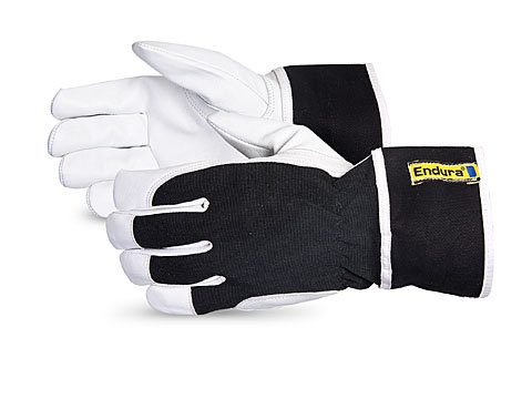 Endura® Goatskin Fitters Gloves with Safety Band Cuffs