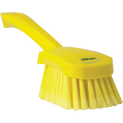Vikan Yellow Gong Brush - Soft