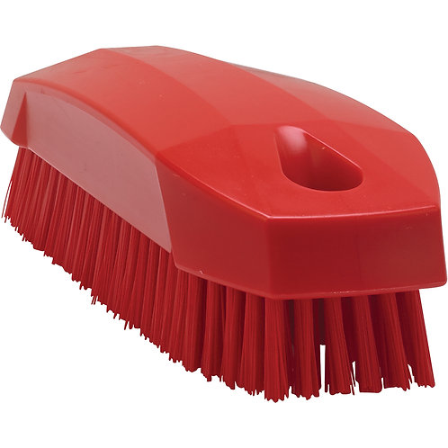 Vikan Red Nailbrush