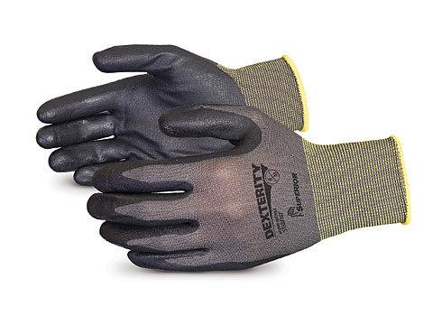 Dexterity® 13-gauge Black Foam-Nitrile-Dipped Work Gloves