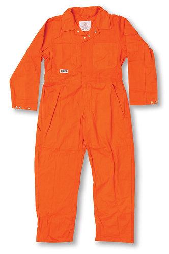 Orange 100% Cotton Coverall