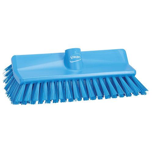 Vikan Blue High-Low Brush