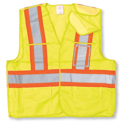 100% Polyester Safety Vest