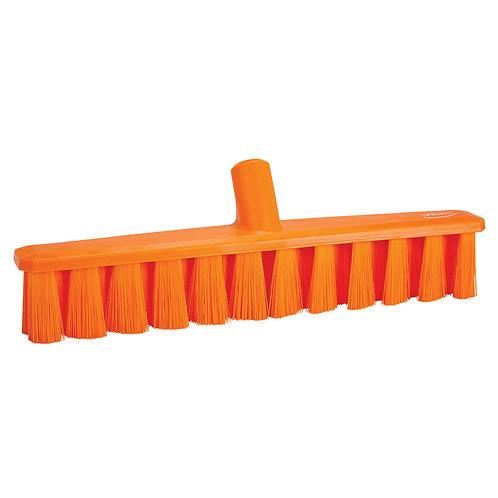 """Vikan 16"""" Orange UST Broom - Medium Bristled"""