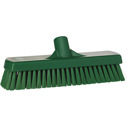 Vikan Green Wall Wash Brush - Soft Bristled