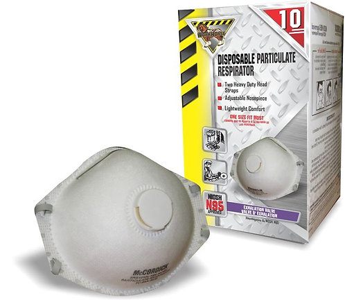 Workhorse Disposable N95 Respirator w/ Valve