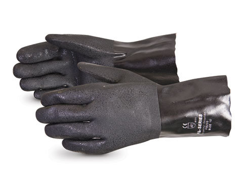 Chemstop™ Double-Dipped PVC Gloves with Gauntlet Cuff