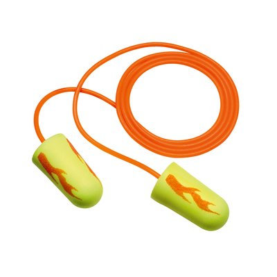 3M E-A-R soft Yellow Neon Blasts Corded Earplugs