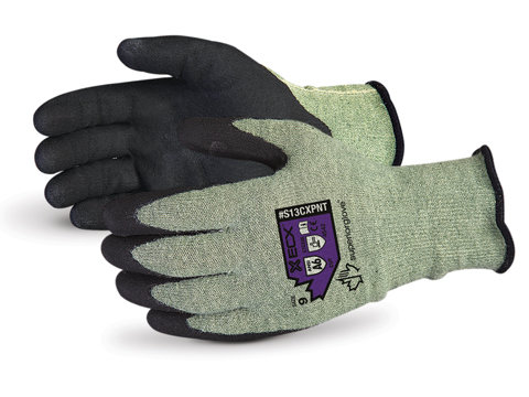 Emerald CX® Kevlar® Composite Knit Gloves with Micropore Nitrile Palms