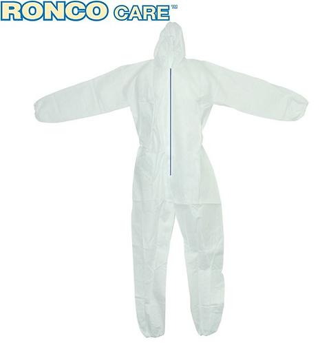 Ronco Care White Polypropylene Coverall