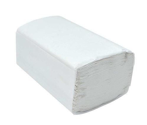 White Single Fold Hand Towels