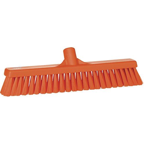 """Vikan 2""""x16"""" Orange Broom - Medium Bristled"""
