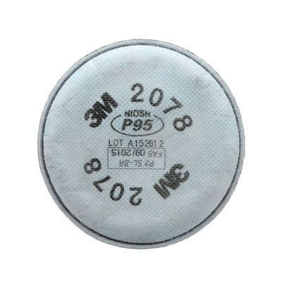 3M 2078 P95 Nuisance Level Organic Vapour/Acid Gas Filter