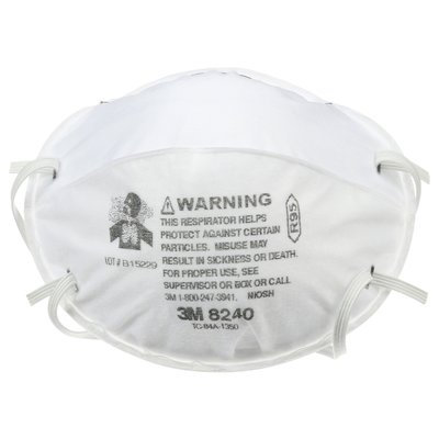 3M 8240 R95 Disposable Particulate Respirator