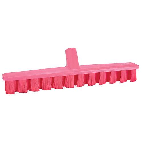 """Vikan 16"""" Pink UST Deck Scrub"""