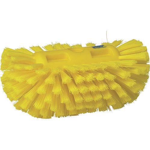 Vikan Yellow Polypropylene Tank Brush - Soft Bristled