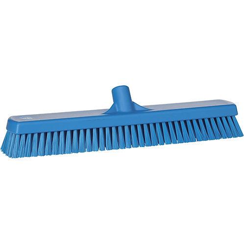 """Vikan 2.5""""x18.5"""" Blue Deck Scrub - Stiff Bristled"""