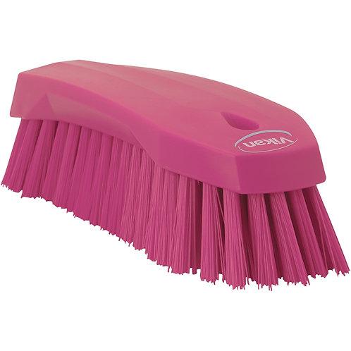 Vikan Pink Hand Scrub Brush - Stiff