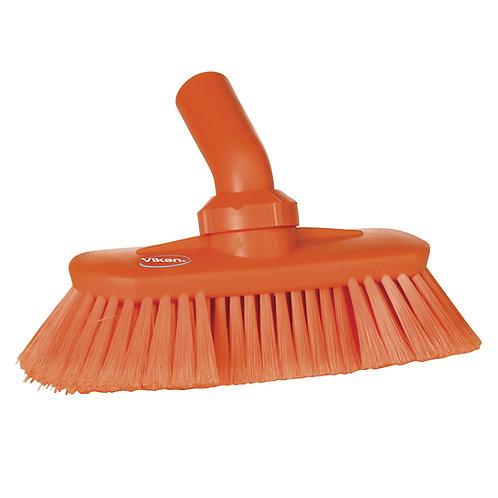 Vikan Orange Angle Adjustable Brush