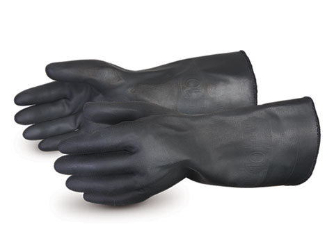 Chemstop™ Terry-lined Heavy-duty Neoprene Chemical Resistant Gloves