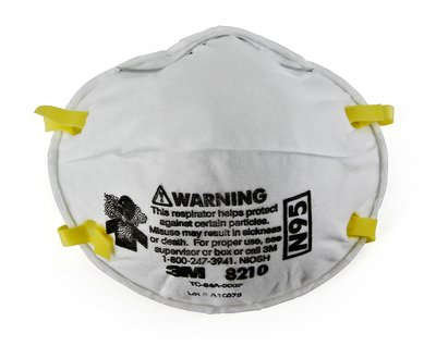 3M 8210 N95 Disposable Particulate Respirator