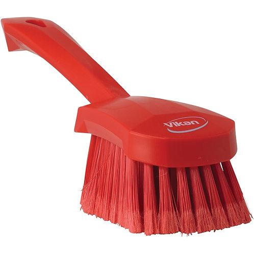 Vikan Red Gong Brush - Soft