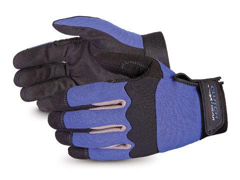 Clutch Gear® Blue Mechanics Gloves