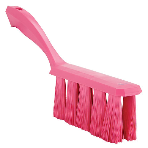 Vikan Pink UST Bench Brush - Soft