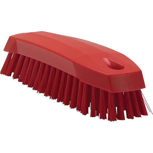 Vikan Red Hand Scrub Brush - Soft