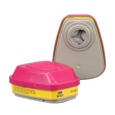 3M 60923 Organic Vapour/Acid Gas Cartridge/Filter