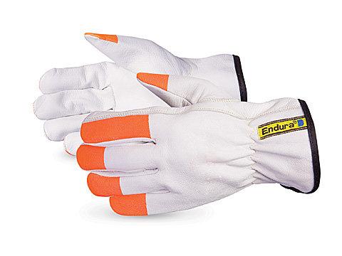 Endura® Goatgrain Glove with Hi-Viz Fingertips