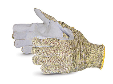 Emerald CX® Kevlar® Composite-knit Gloves with Split-Leather Palms