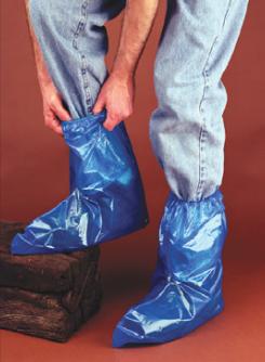Continental Plastics 4 Mil Blue Elast-a-Boots