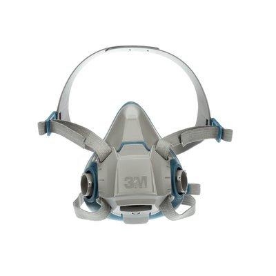 3M 6501 Small Rugged Comfort Half Facepiece Reusable Respirator