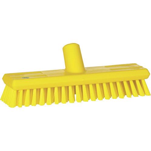 Vikan Yellow Wall Wash Brush - Soft Bristled