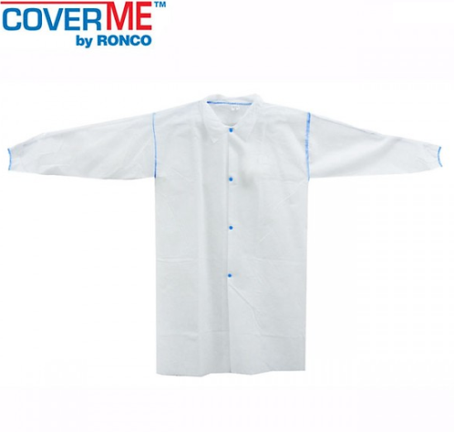 Ronco CoverMe Polypropylene Labcoat