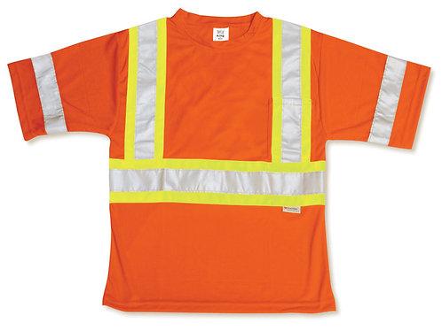 Poly Wicking Orange T-Shirt