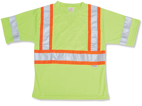 Poly Wicking Lime T-Shirt