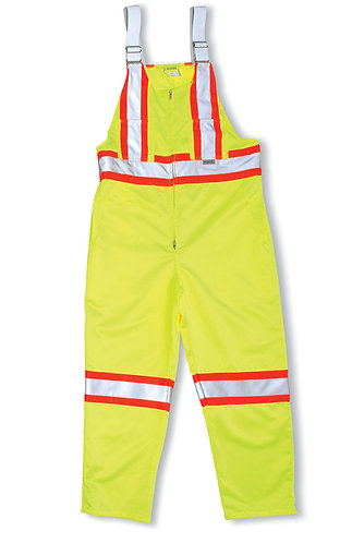 Polyester/Cotton Lime Green Overall