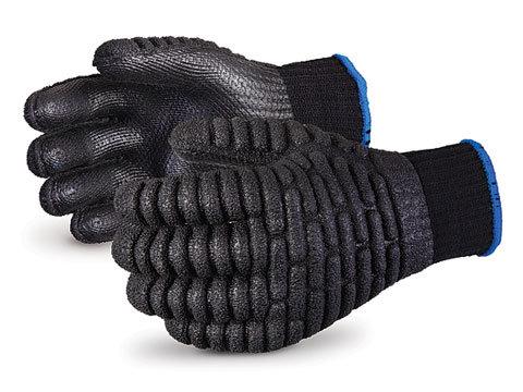 Vibrastop™ Nylon/Cotton Knit with Anti-Impact Chloroprene Backs Latex Palms
