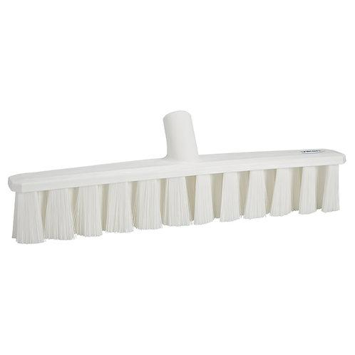 """Vikan 16"""" White UST Broom - Soft Bristled"""