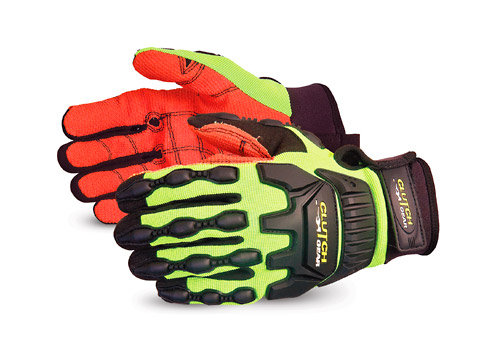 Clutch Gear® Fully-Lined Anti-Impact Oilfield Glove with Armortex® Palm