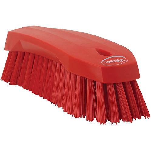 Vikan Red Hand Scrub Brush - Stiff