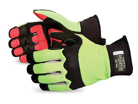 Clutch Gear® High-viz Mechanics Oilfield Glove